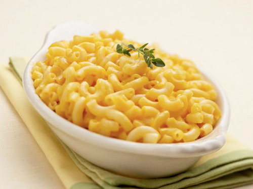 macaroni and cheeses