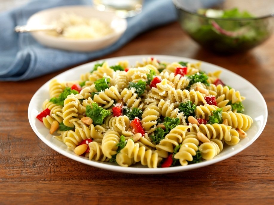 rotini with herb dressing