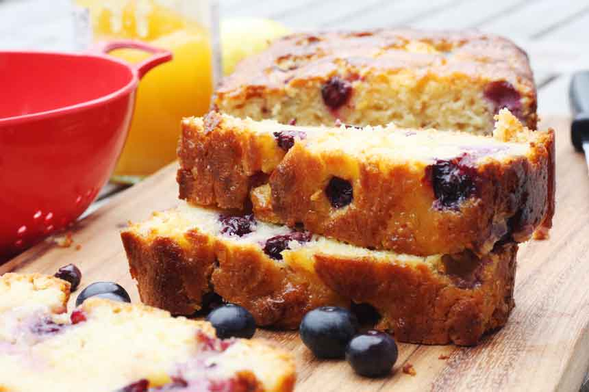 blueberry cake 2