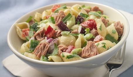 cajun shell salad