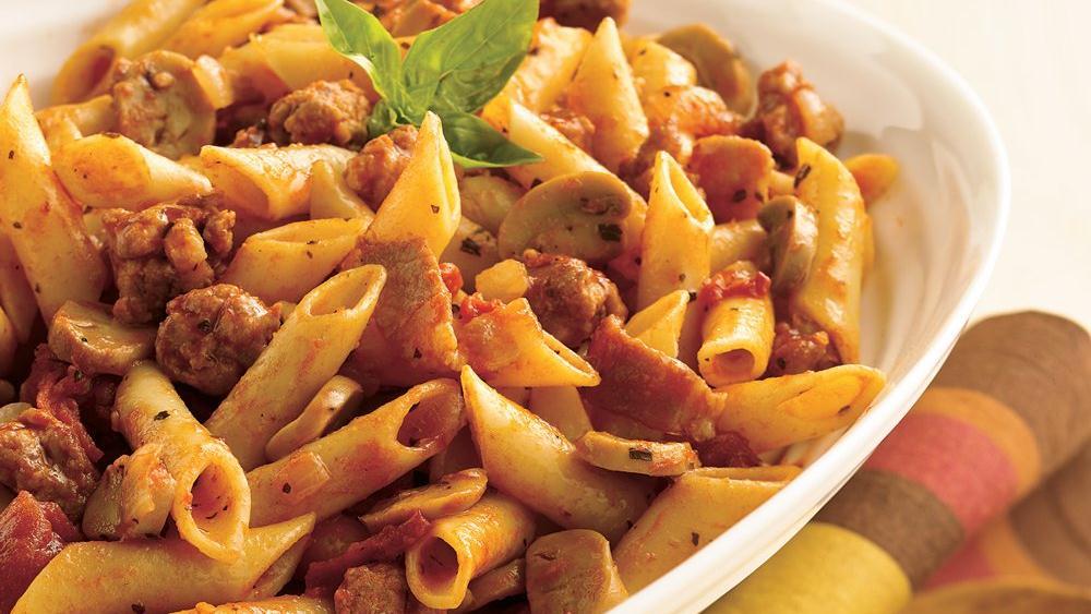 sicilian tomato pasta