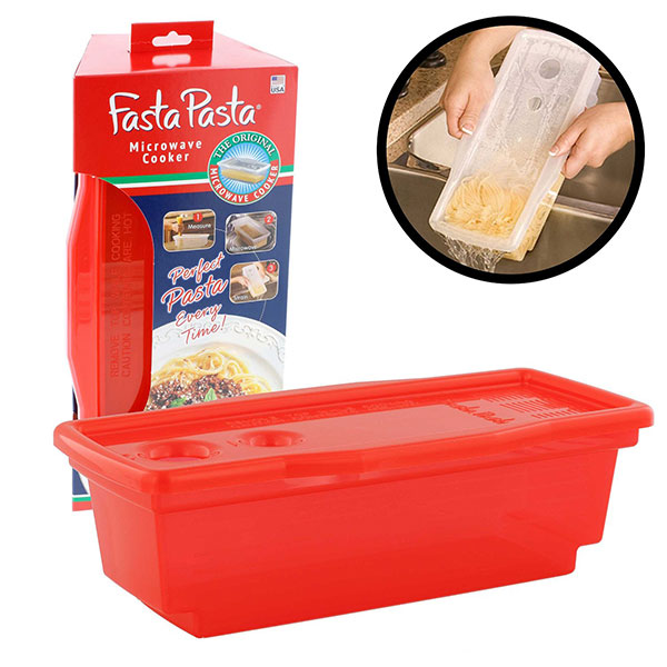 Fasta Pasta Cooker Red
